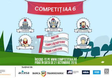 S-a lansat cea de-a șasea ediție a proiectului CompetițIAA