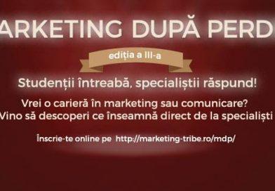 Marketing după Perdea din nou la Cluj-Napoca – ediția a treia
