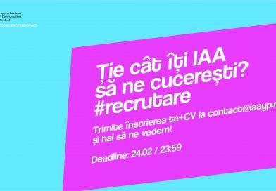 IAA YP îţi dă întâlnire!