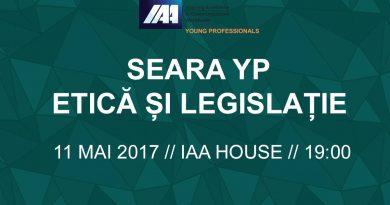 Seara YP Etică şi legislaţie