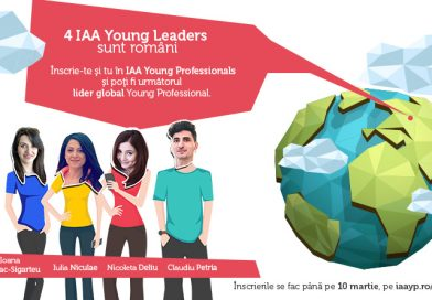 "IAA Young Professionals lanseaza campania de recrutare ""Inspiring young leaders"""
