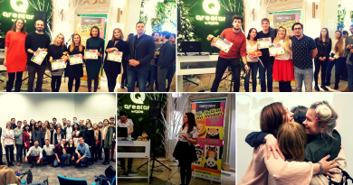IAA Young Professionals a premiat cele mai creative idei în cadrul CompetiţIAA 2018. Iată cine sunt câştigătorii
