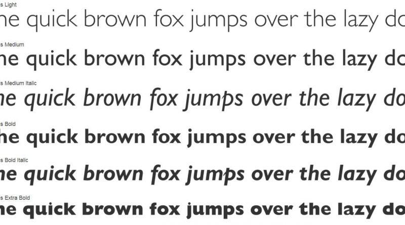 Să ne facem sau nu un typeface propriu?