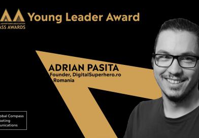 IAA a anunțat câștigătorii Young Leader Compass Awards 2020. Adrian Pașita, premiat pentru contribuțiile sale în comunitatea IAA YP și industria Marcom