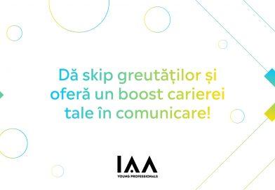 IAA Young Professionals caută noi membri care să-și pună cariera pe fast forward